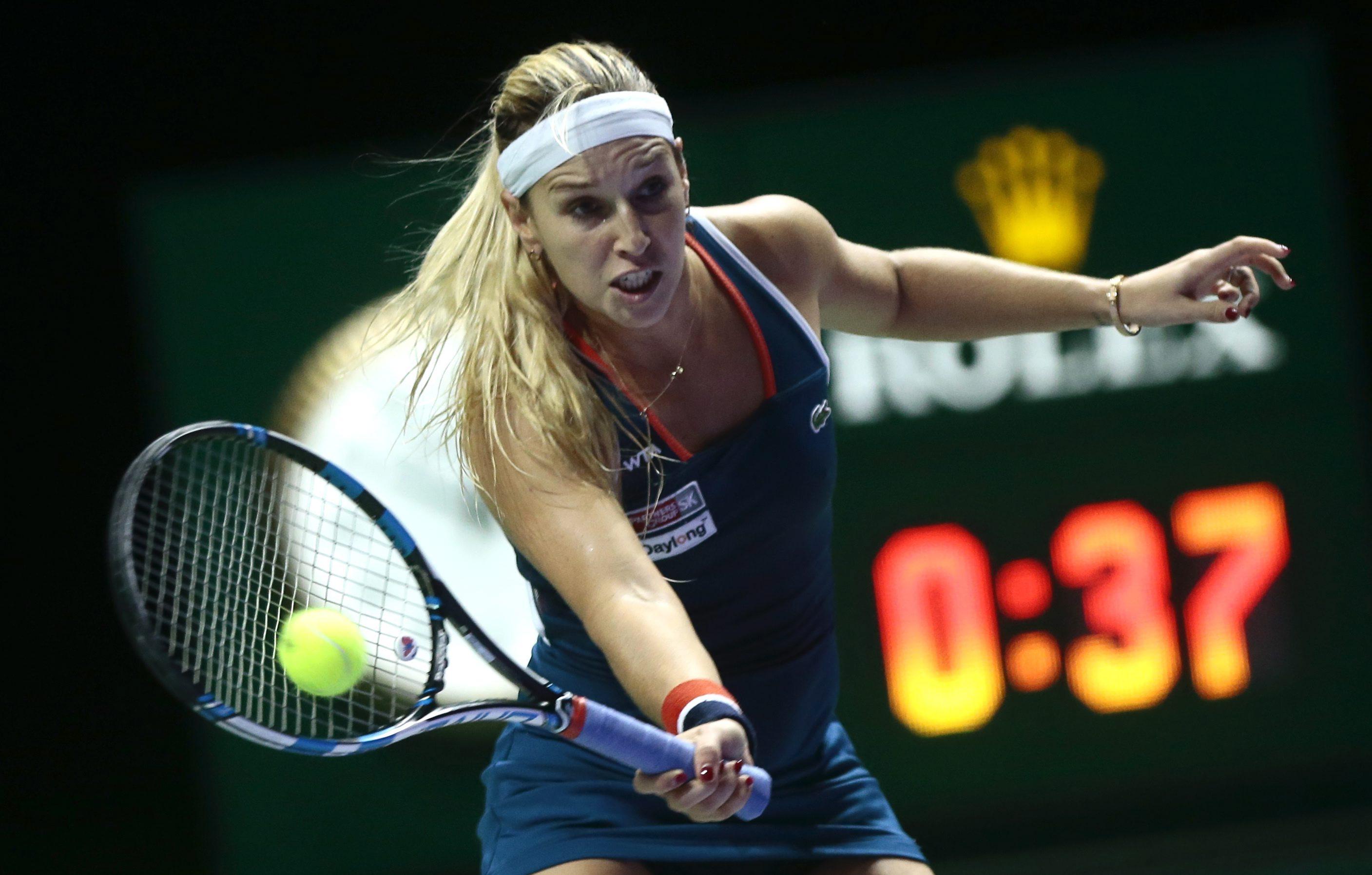 Tennis - Brad Gilbert says Dominika Cibulkova packs a lot