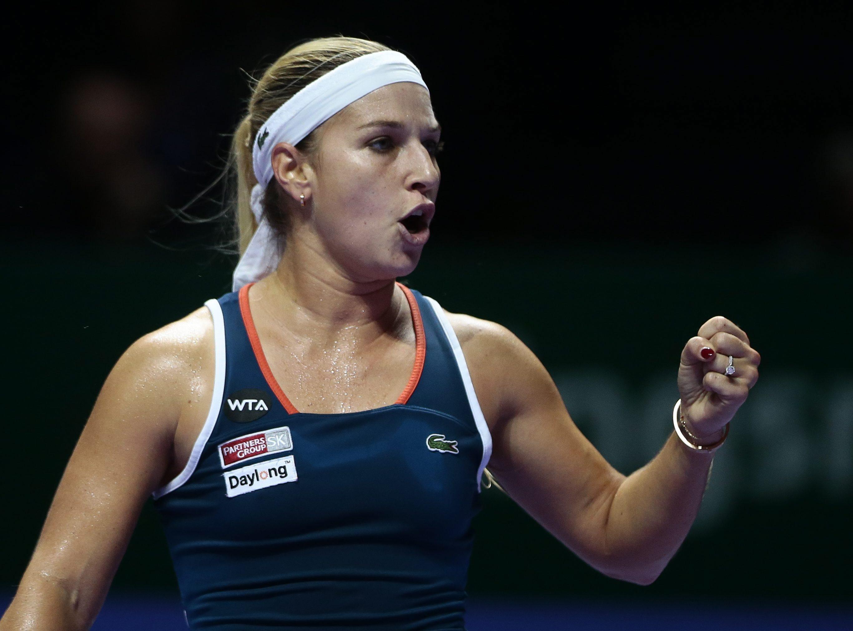 Dominika Cibulkova po awansie do półfinału: Jeszcze nie