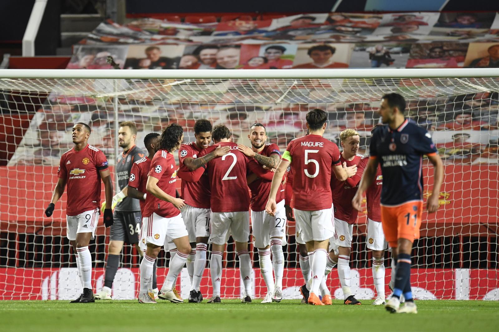 Liga Mistrzów. Manchester United - Istanbul Basaksehir: udany rewanż Czerwonych Diabłów - Sport WP SportoweFakty