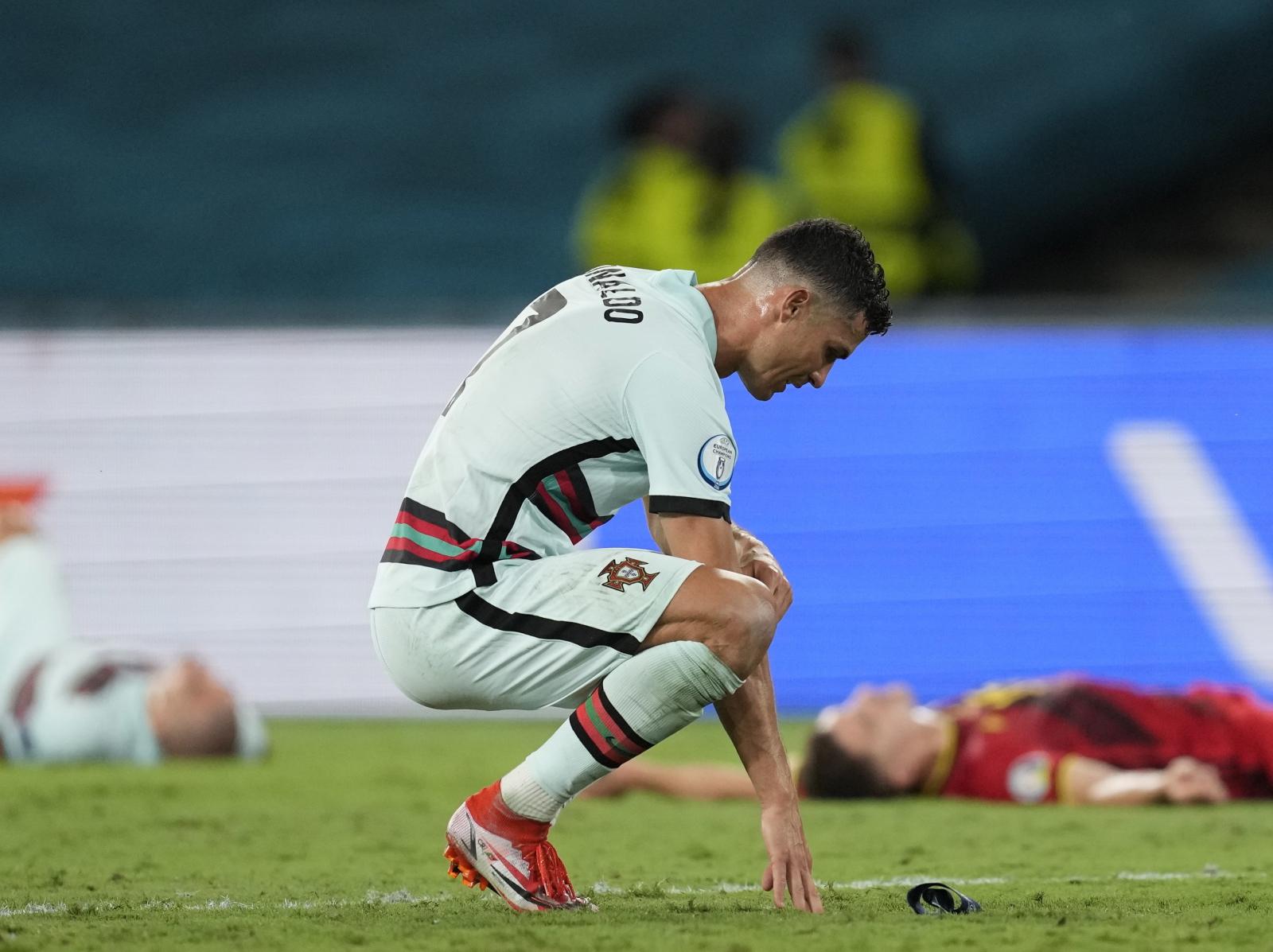 Koniec turnieju dla Cristiano Ronaldo. Portugalczyk dał upust swoim emocjom - Sport WP SportoweFakty
