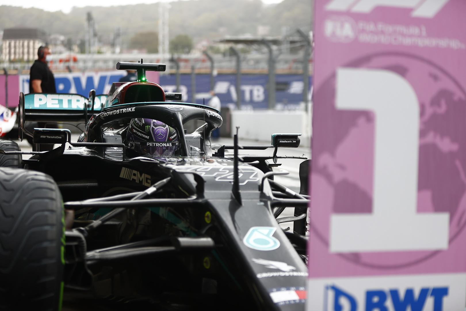 Kwalifikacje dla Mercedesa thumbnail